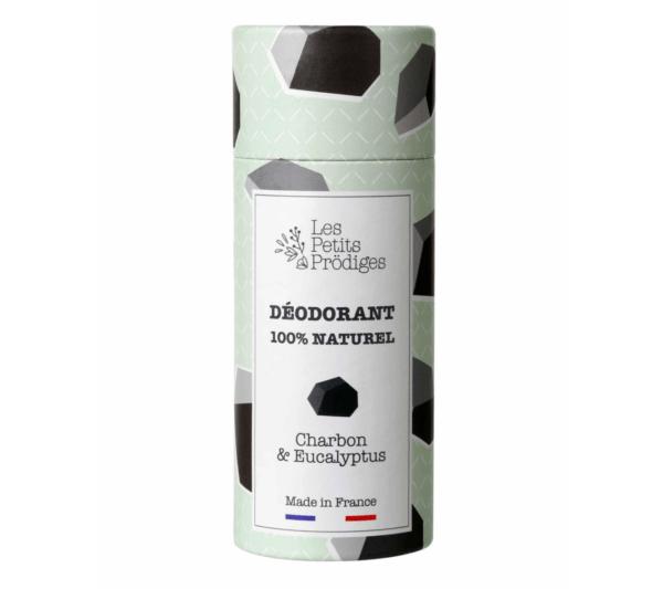 Le déodorant Charbon Eucalyptus LES PETITS PRODIGES
