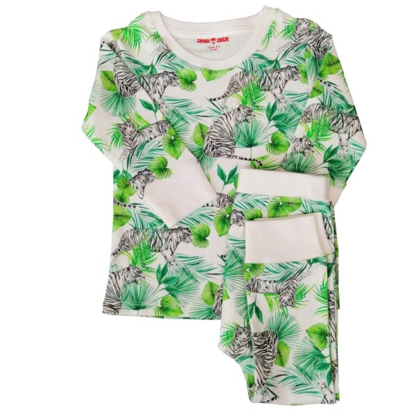 Pyjama deux pièce Tigre CHANGE MA COUCHE