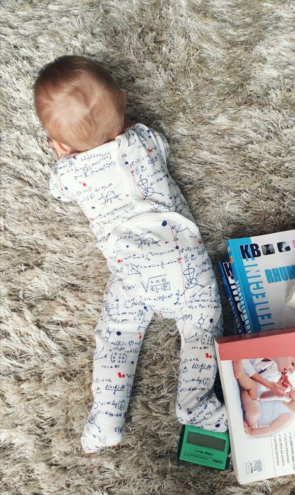 Pyjama une pièce Maths CHANGE MA COUCHE