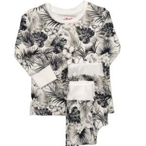 Pyjama deux pièce Tropical CHANGE MA COUCHE