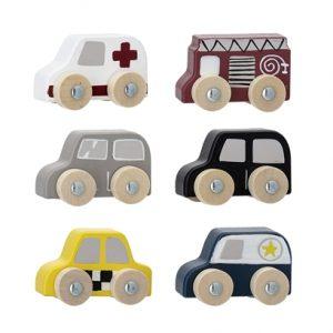 minis voitures en bois