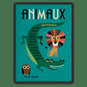 livre géant animaux