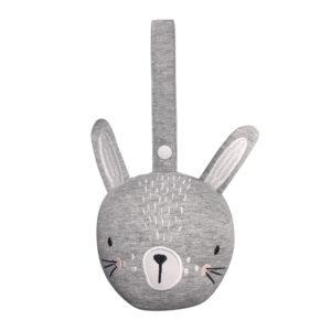 jouet d'éveil à suspendre lapin gris MISTERFLY