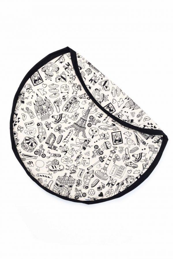 Tapis et sac de rangement Paris Play&Go
