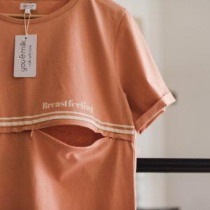Tee shirt d'allaitement Breastfeeling