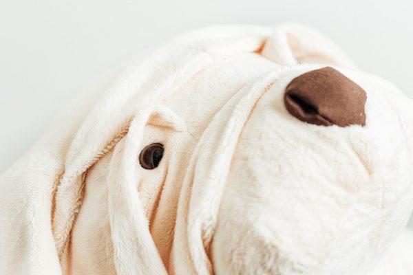 Albert le chien LA PELUCHERIE