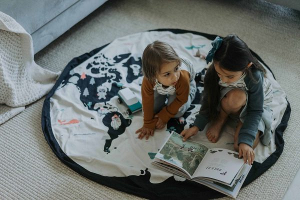 Tapis et sac de rangement Worldmap PLAY&GO